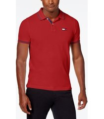 tommy hilfiger denim men's custom-fit logan polo