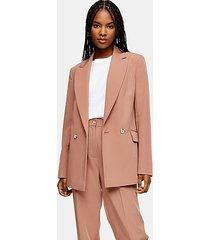 rose pink peg suit pants - rose