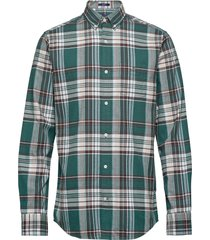 d2. brushed oxford reg bd overhemd casual groen gant