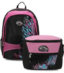 maletas y morrales lifestyle air express pink
