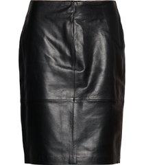slfolly skirt kort kjol svart soaked in luxury