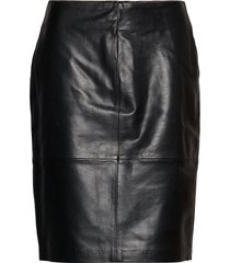 slfolly skirt kort kjol svart soaked in luxury