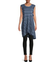 free people women's between the lines striped dress - tan combo - size xs