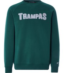 karhu trampas logo sweatshirt | june bug | ka00144-jun