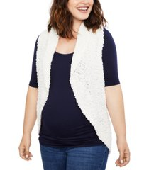 motherhood maternity sweater vest