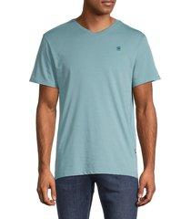 g-star raw men's organic cotton t-shirt - blue - size xl