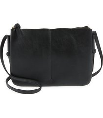 madewell the knotted crossbody bag - black