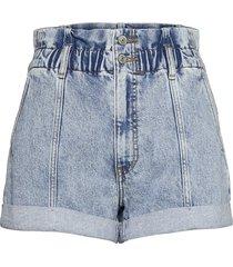anf womens shorts shorts denim shorts blå abercrombie & fitch