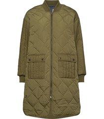 nubisisu jacket kviltad jacka grön nümph