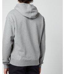 ami men's de coeur pullover hoodie - heather grey - xxl
