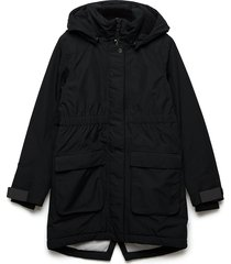 ronne gs yt parka outerwear jackets & coats winter& warmlined jackets zwart didriksons