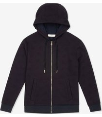 b-chain track hoodie blue s