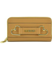 love moschino womens brown wallet