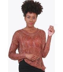 sweter hilo cobre night concept