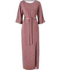 maxiklänning visateeny open back ancle dress