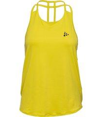 unmtd strap singlet w t-shirts & tops sleeveless gul craft