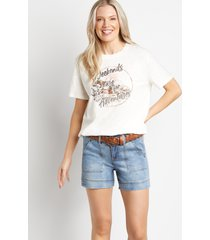 maurices womens medium wash belted 5in shorts by blue planet