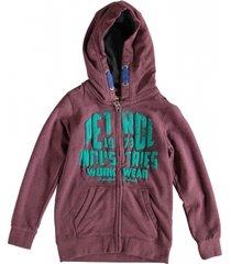 petrol sweatvest hoodie