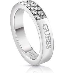 anillo guess embrance/ubr78019-54 - plateado