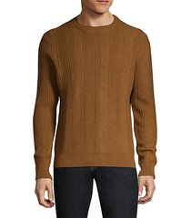 fancy cashmere crew sweater