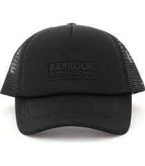 barbour heli trucker barbour baseball cap