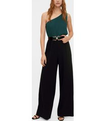 mango bicolor long jumpsuit