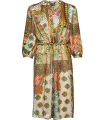 3370 - zihia dress v knälång klänning multi/mönstrad sand