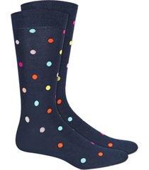 bar iii men's rainbow dot socks, created for macy's