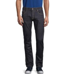 cult of individuality men's rocker slim jeans - rinse - size 38