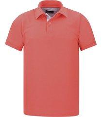 camiseta tipo polo coral hamer fondo entero