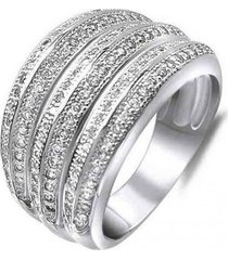 anillo gran casual plata arany joyas
