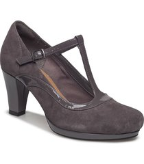 chorus pitch shoes pumps classic svart clarks