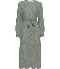 moagz dress ms21 jurk knielengte groen gestuz