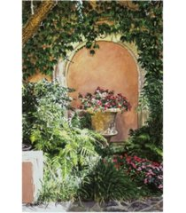 "david lloyd glover a sunny nook, hotel bel-air canvas art - 20"" x 25"""