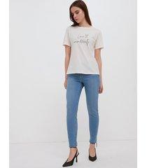 motivi jeans skinny push up donna blu