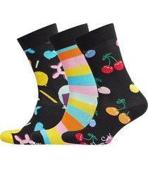 balloon animal birthday gift box underwear socks regular socks multi/mönstrad happy socks