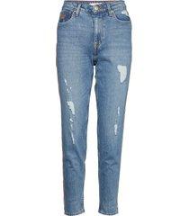 gramercy tapered hw, skinny jeans blå tommy hilfiger