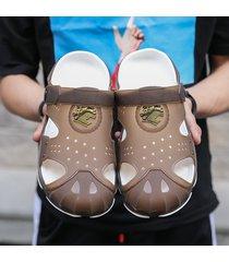 zapatos de agua para la playa de verano para hombres sandalias con