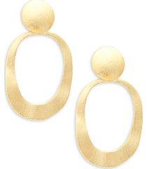 18k goldplated statement earrings