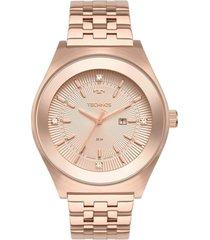 relógio technos 2015ceb/4j rosa