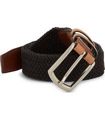 woven contrast belt