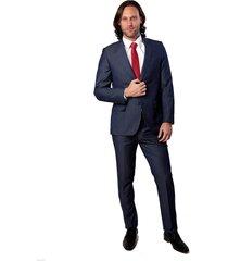 traje azul oscar de la renta b9sut111-bl