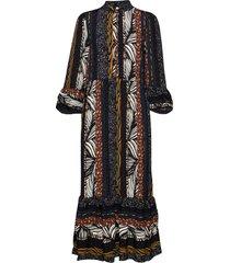 pzfleur dress maxiklänning festklänning multi/mönstrad pulz jeans