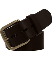 men's frye leather belt, size 32 - brown