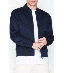 topman navy bomber jacket jackor navy