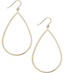 14k gold vermeil earrings, teardrop dangle earrings