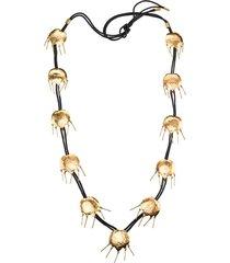 goldss tulip necklace, women's, josie natori