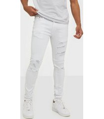 jack & jones jjiliam jjoriginal am 802 jeans vit