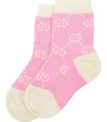 gucci pink socks for babygirl