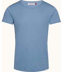 capri blue tailored fit crew neck ob-t t-shirt